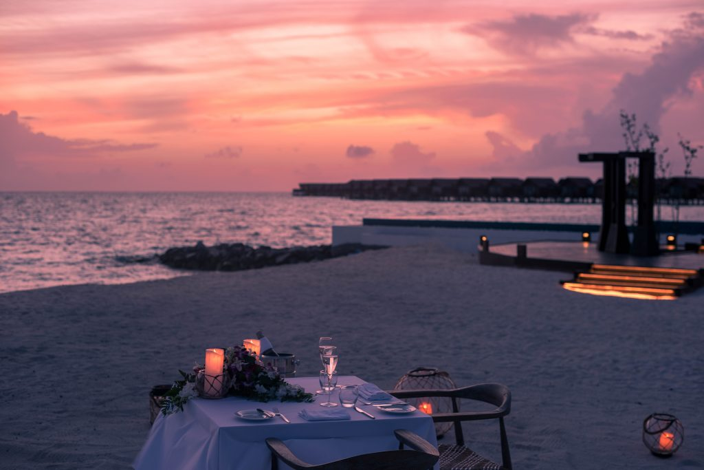 Dinner under the stars, Private Dining