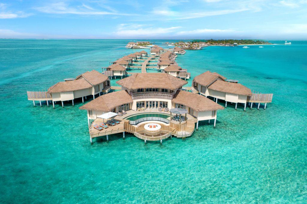 InterContinental Maldives - 3 Bedroom Overwater Pool Residence - Aerial
