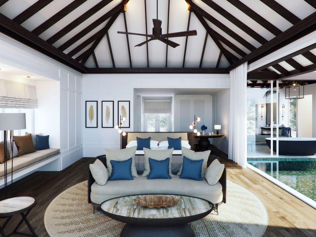 Naladhu Private Island Maldives - Beach & Ocean Houses - Bedroom
