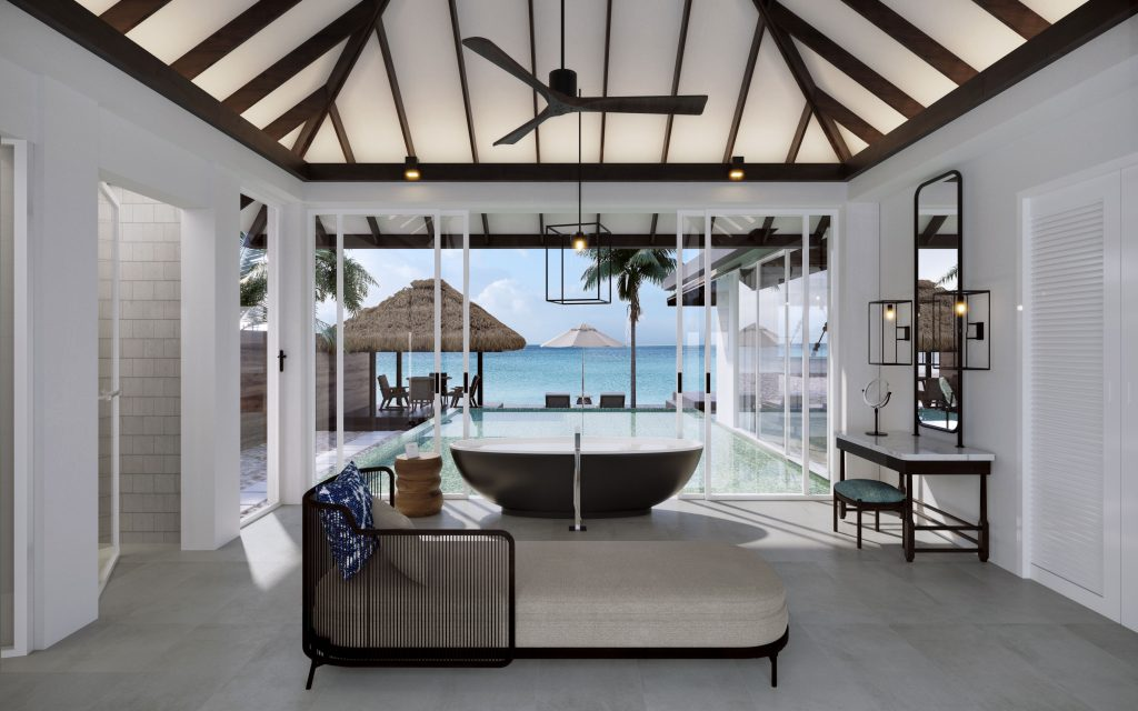 Naladhu Private Island Maldives - Ocean House with Pool and Private Cabana - Bathroom
