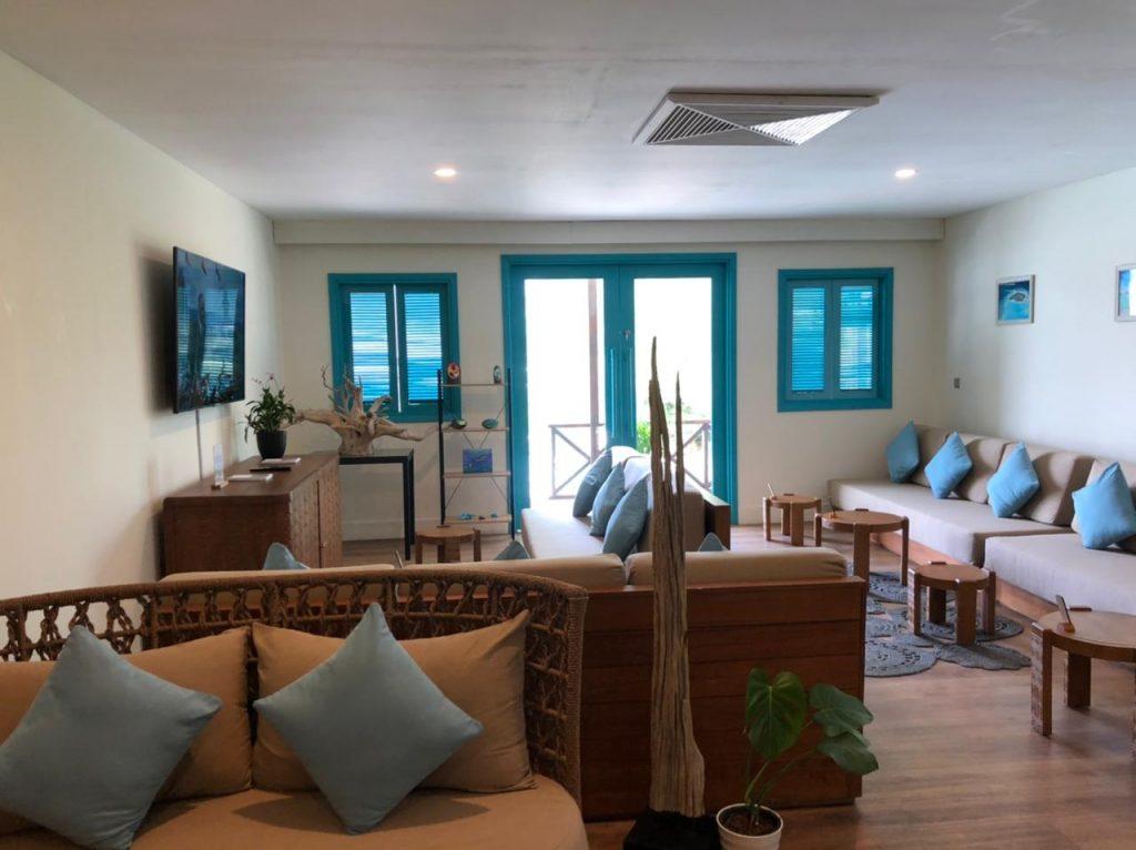 Fairmont Maldives New Airport Lounge