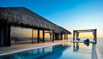 Ocean pool house, Velaa Private Island