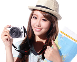 Chinese Young Tourist