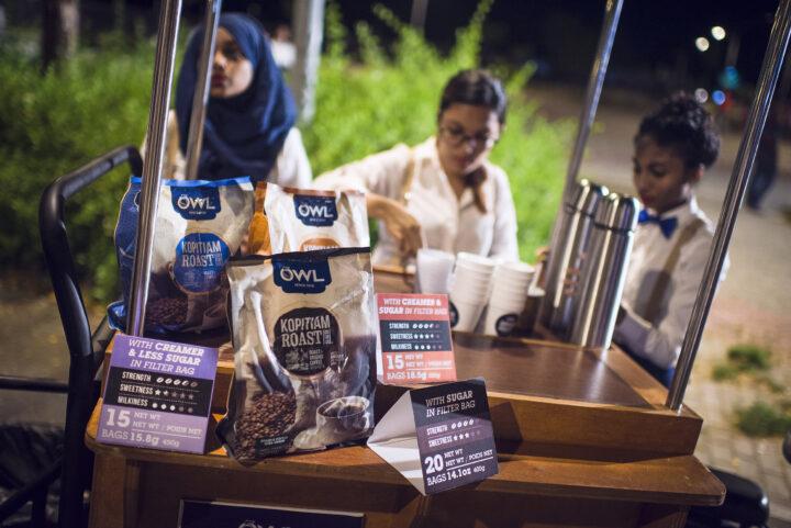 OWL kopitiam ground & roast coffee promotion