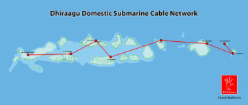 Dhiraagu Submarine Cable