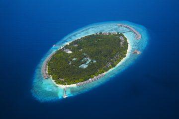 Dusit Thani Maldives-Aerial Shot