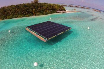 Gili solar platform