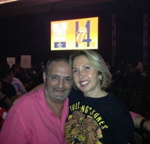 Giuseppe D'Amato with Wife