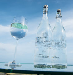 Hideaway Beach Maldives water bottles (2)