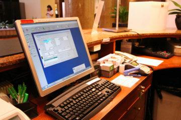 Hotel front desk OS