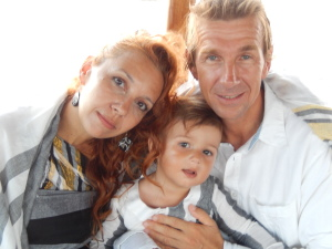 Kai Emmerling with Wife and Son