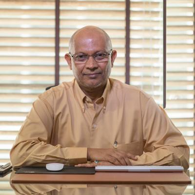 Hassan Zahir , Managing Director