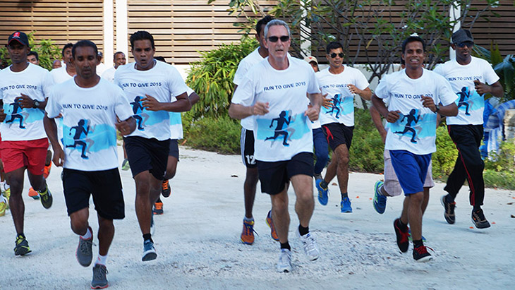 Run to Give 5 Gm Hassan Saaid and team