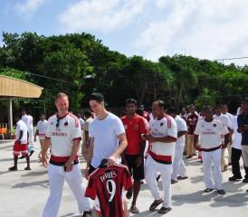 Torres opens new Football Ground at Anantara Kihavah Villas in the Maldives