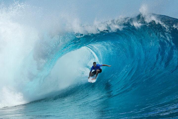 Taj Burrow- Four seasons maldives surfing champions trophy