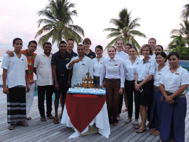 Outrigger Konotta Maldives resort anniversary