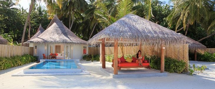 sun villa w pool vilu reef