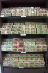 tea boxes display