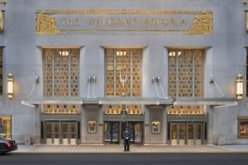 The sale of The Waldorf Astoria in New York for $1.95 billion closed this year