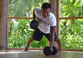 Fitness experts at Six Senses Laamu shared their expertise with guests