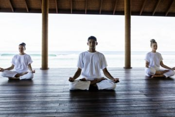yoga at anantara veli